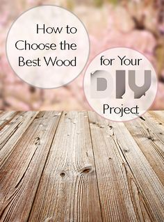 How to choose the best wood for your DIY Project Pick the right wood for your DIY projects with these tips. Quick Crafts, Creative Crafts, Cool Diy Projects, Projects To Try, Diy Home Improvement, Bar, Woodworking Tips, So Little Time, Hobbies And Crafts