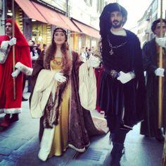 @iaiamcm_#sposi #AnnaSforza #Alfonso #duchi #rionesantamariainvado #rionesanpaolo #CarnevaleRinascimentale #igersferrara #rinascife2015