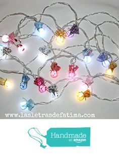 Girnalda de luces led para cuarto de bebe. de Handmade with Love by Fatima https://www.amazon.es/dp/B01L9B6BPQ/ref=hnd_sw_r_pi_dp_8ojYxbVRNE8SN #handmadeatamazon