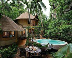 Magnífica casa en la selva!