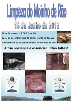 Limpeza do Moinho de Rão # 16 de Junho, 2012 (nova data) @ Viadal, Cepelos, Vale de Cambra