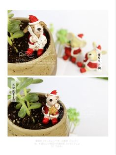 Cute Christmas Friends on your desk