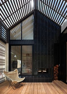 "Winner of the sustainability category in the 2012 Houses Awards, the footprint of this home in Melbourne was actually reduced in size as part of an ingenious re-design by Make Architecture. The smaller spaces and multi-functional rooms were designed as part of a ""move towards smaller, more flexible houses as an essential response to conserve resources and reduce carbon footprints"" say the architects."