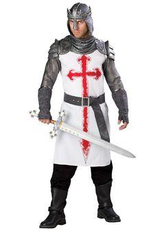 knight/crusader costume