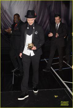 Celeb Diary: Justin Timberlake @ 2013 MTV Video Music Awards