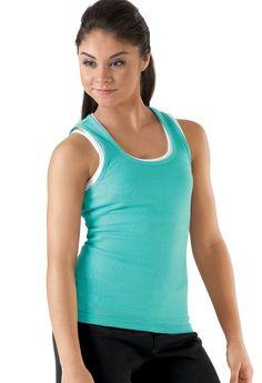 #Dancewear Solutions - #Dancewear Solutions Basic Cotton Tank Top - AdoreWe.com