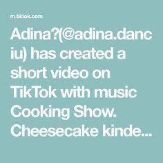 Adina🌸(@adina.danciu) has created a short video on TikTok with music Cooking Show. Cheesecake kinder bueno😋 Reteta o gasiti la AnytaCooking. #cooking #cheesecake #fy #foryoupage Cheesecake, Cooking, Music, Kitchen, Musica, Musik, Cheesecakes, Muziek, Music Activities