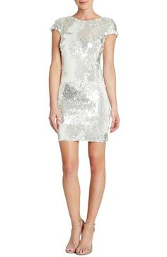 Tabitha' Backless Sequin Minidress (Nordstrom Exclusive)