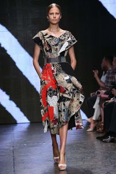 Donna Karan RTW Spring 2015  | photo by Robert Mitra | posted by WWD