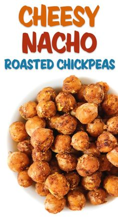 The Garden Grazer: Cheesy Nacho Roasted Chickpeas - Healthy snack ideas - Roasted Chickpea Snacks, Healthy Vegan Snacks, Vegetarian Recipes, Snack Recipes, Cooking Recipes, Healthy Recipes, Chickpea Salad, Skillet Recipes, Cooking Tools