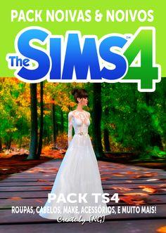 Nathys Sims: Pack Noivas e Noivos (Só cas) [NG]