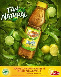"Lipton ""Tan Natural"" by German Alvarado, via Behance Food Graphic Design, Creative Poster Design, Ads Creative, Creative Posters, Graphic Design Posters, Ad Design, Graphic Design Inspiration, Clever Advertising, Advertising Design"
