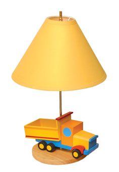 Boys Like Trucks Lamp