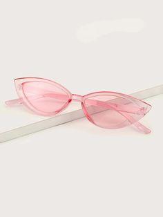 Clear Frame Cat Eye Sunglasses   SHEIN USA Latest Sunglasses, Stylish Sunglasses, Cat Eye Sunglasses, Hijab Outfit, Cool Glasses, Fashion Eye Glasses, Cute Jewelry, Girly Things, Eyeglasses