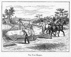 McCormick Reaper | Mccormicks Reaper, 1834 Photograph - Mccormicks Reaper, 1834 Fine Art ...