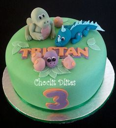 Tristan's dinosaur cake | Flickr - Photo Sharing!