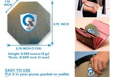 Quanthor EMF/EMR radiation protection cell phone