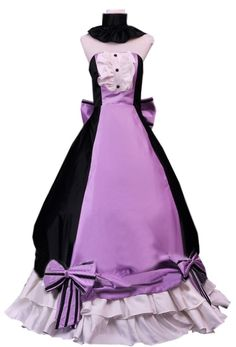 Onecos Vocaloid Family Luka Purple Dress Cosplay Costume * Want additional info? Click on the image.