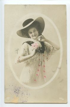 vintage ladies photos in Postcards | eBay