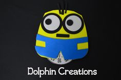 "Disco orario per auto ""minions"", by Dolphin Creations - Handmade by Laura, 6,80 € su misshobby.com"