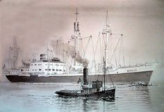 Image detail for -Ships and Harbours Photos - Cargo vessel Achilles