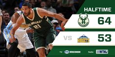 "Milwaukee Bucks on Twitter: ""The offense is rolling in the first half as the…"