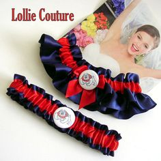 Celebrate the Bulldogs at your wedding! Check out these garters by lolliecouture on Etsy, $50.00