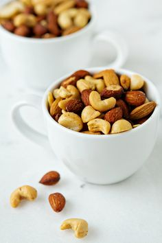How to Toast Nuts- different times for different nuts