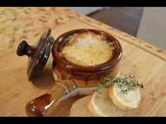 Easy french onion soup food pinterest easy french onion soup a quick and easy way to make french onion soup with virtually every ingredient you probably already have at home things you may need mandolin thin sisterspd