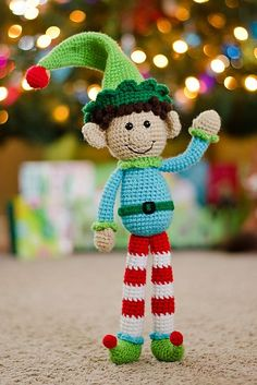 Ravelry: Riley's Magic Elf free crochet pattern by SeriouslyDaisies