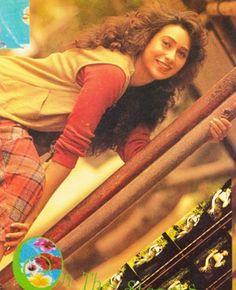 Young Karisma Kapoor Karisma Kapoor, Bollywood, Sari, Celebrities, Pretty, Style, Fashion, Saree, Swag