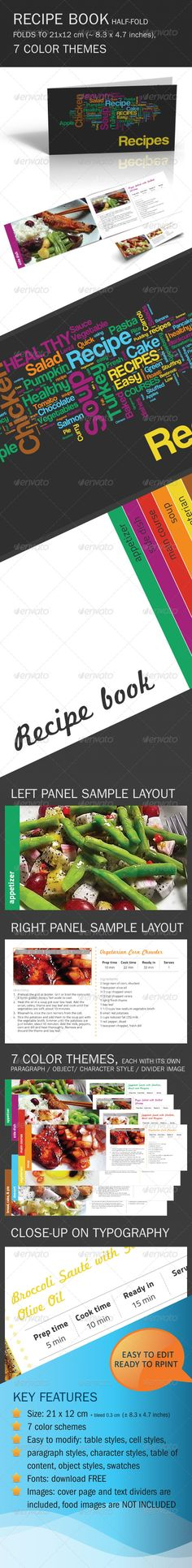 Templates For Microsoft Products Get Geeky Pinterest Cookbook - Adobe indesign cookbook template