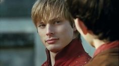 The way he looks at Merlin..