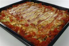 farseret hvidkål Lchf, Keto, Danish Food, Recipes From Heaven, Lasagna, Bacon, Good Food, Brunch, Food And Drink