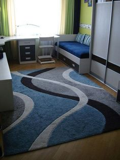 Trendy bedroom rug diy home decor Ideas Home Bedroom, Bedroom Decor, Black Bedroom Furniture, Bedroom Layouts, Kids Room Design, Bedroom Vintage, Small Living Rooms, Decorating Small Spaces, Trendy Bedroom