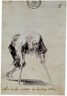 "Francisco Goya ""así suelen acabar los hombres útiles"" #BZL2"