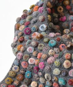 【楽天市場】sophie digard ソフィーディガー BISCUIT POP LILLIPUT MERINO WOOL SCARF / GREY (SMALL):ラブリ