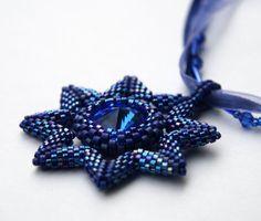 "Artbeads.com Jewerly Design Star Round 8 Winner - Anastasiya Klimanova - ""Sapphire Medal Pendant"""