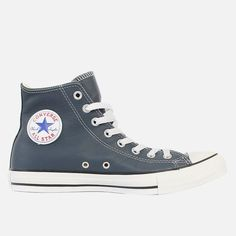 Converse - Chuck Taylor All Star Hi Vulcanized Rubber, Converse Chuck Taylor All Star, Diamond Shapes, High Top Sneakers, Leather, Men, Shoes, Fashion, Moda