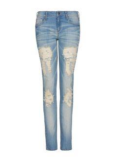 MANGO - Jeans super slim rotos  29,99€