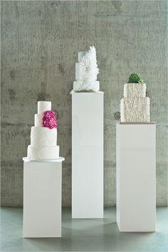 cake display idea - art museum style
