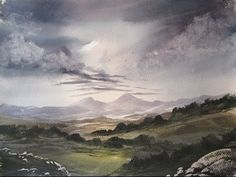 Beinn Bhan, Highlands watercolour painting lesson - YouTube