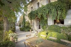 The house we are staying in in Provence