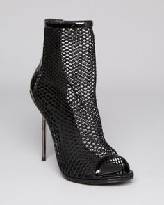 I have got to have these! SO HOT! B Brian Atwood Booties - Michele Mesh  Bloomingdale's