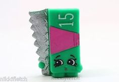 Shopkins Season 2 2 074 Green AL Foil Shopkin   eBay
