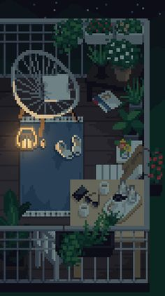 I saw this, and fell in love! I had to make a pixel of it!