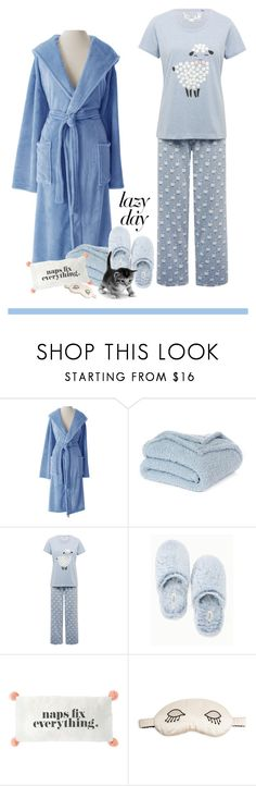 """""""Cat Nap"""" by patricia-dimmick on Polyvore featuring Pine Cone Hill, Nordstrom Rack, M&Co, Soma, Morgan Lane and LazyDay"""