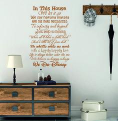 Muursticker We do disney Disney Winnie The Pooh, Home Decor, Decoration Home, Room Decor, Interior Design, Home Interiors, Interior Decorating