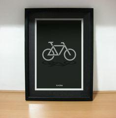 Poster bike logo lovbike