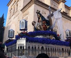 Santa Maria de la Alhambra Easter 2013 Granada Spain.                                  http://www.piccavey.com/spain-blog-2013/